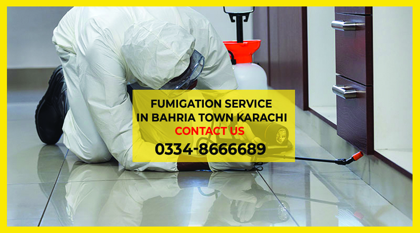 Fumigation Services In Bahria Town Karachi